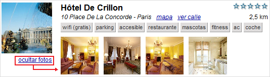 fotos de hoteles
