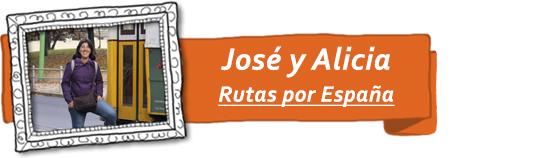 José y Alicia, del blog de viajes Rutas por España.