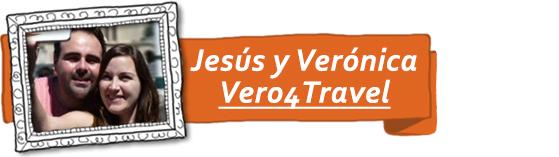 Jesús y Verónica, del blog de viajes Vero4travel.