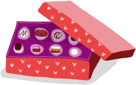 Caja de bombones.
