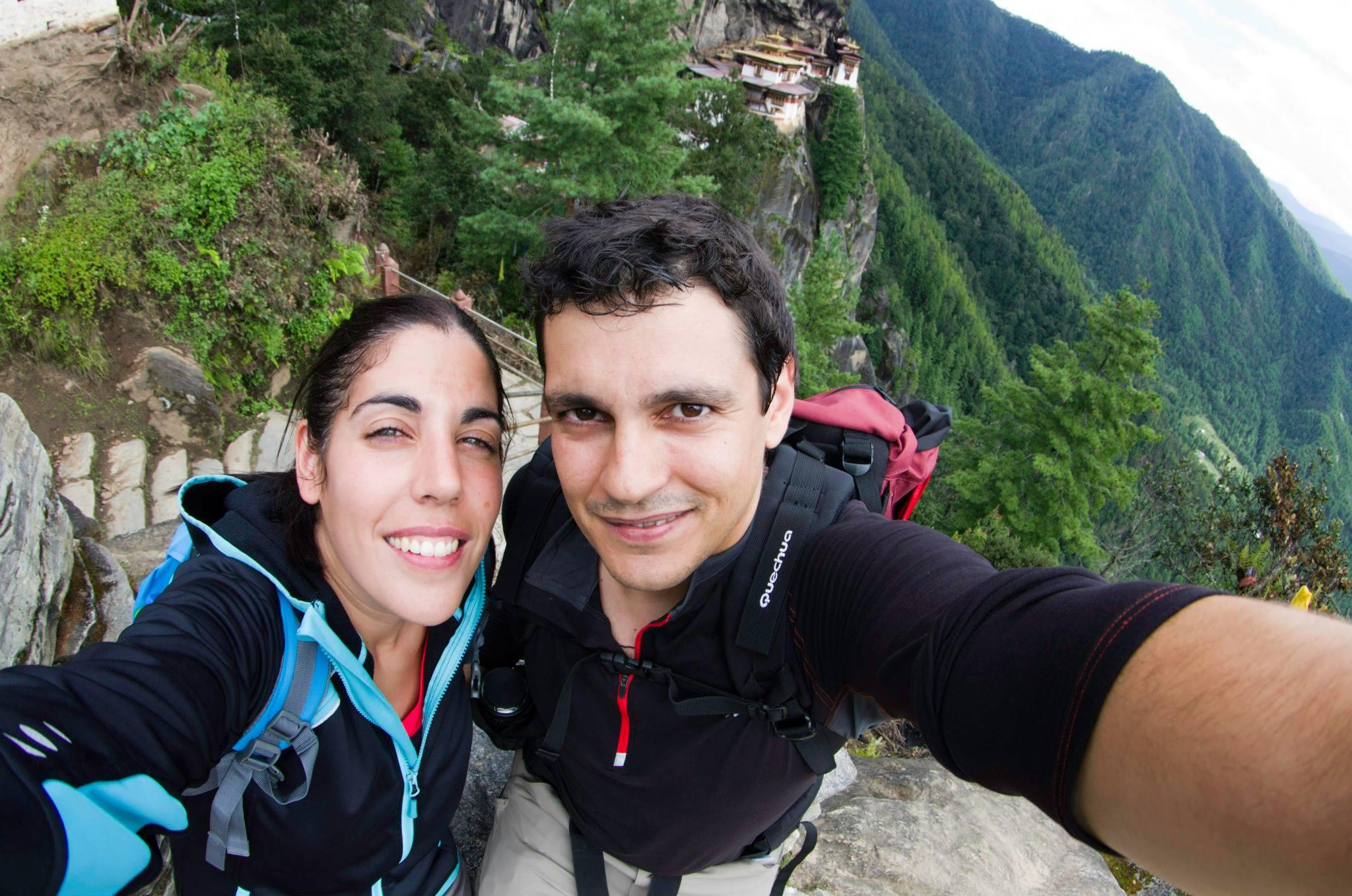 bután-nido-del-tigre-selfie