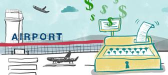 Gastos en aeropuertos