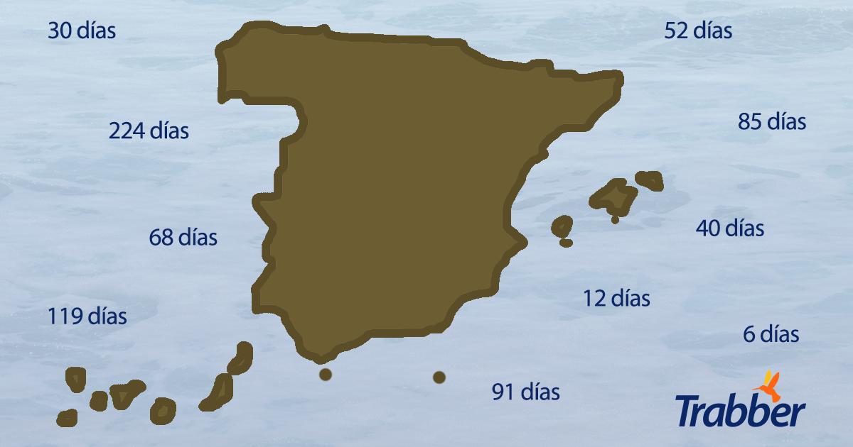 comunidad autonoma reserva antelación mapa
