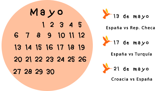 calendario eurocopa