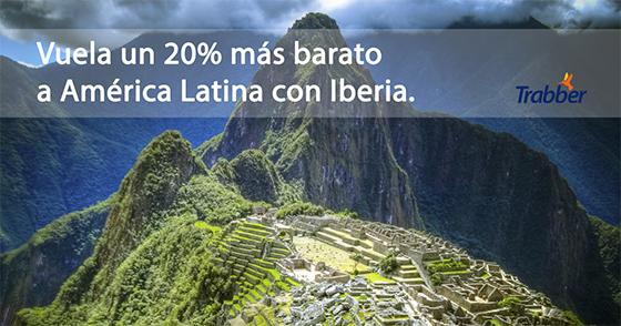 cupón iberia américa latina