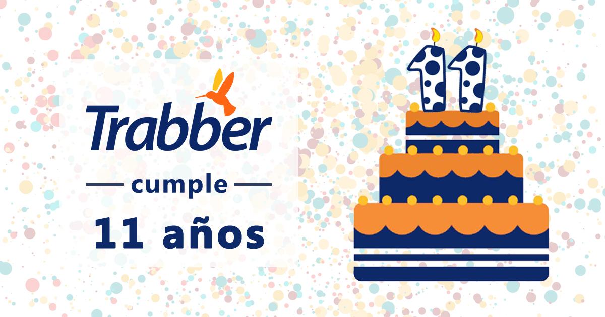 queremos celebrar nuestro 11 cumpleaños contigo