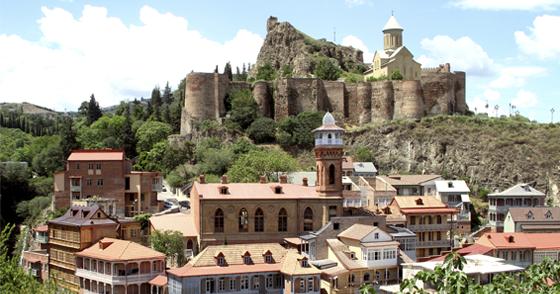 Ciudades sorprendentes Tbilis