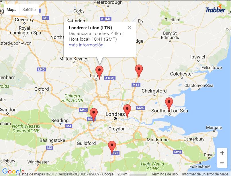 Ejemplo 2 mapa aeropuertos