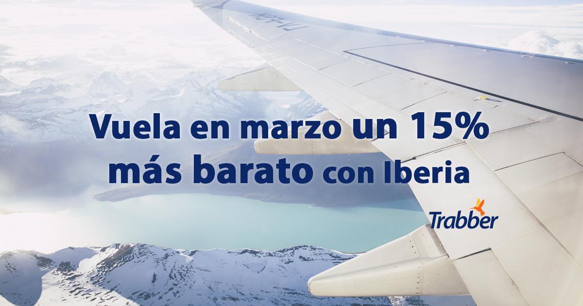 Descuento Iberia Marzo