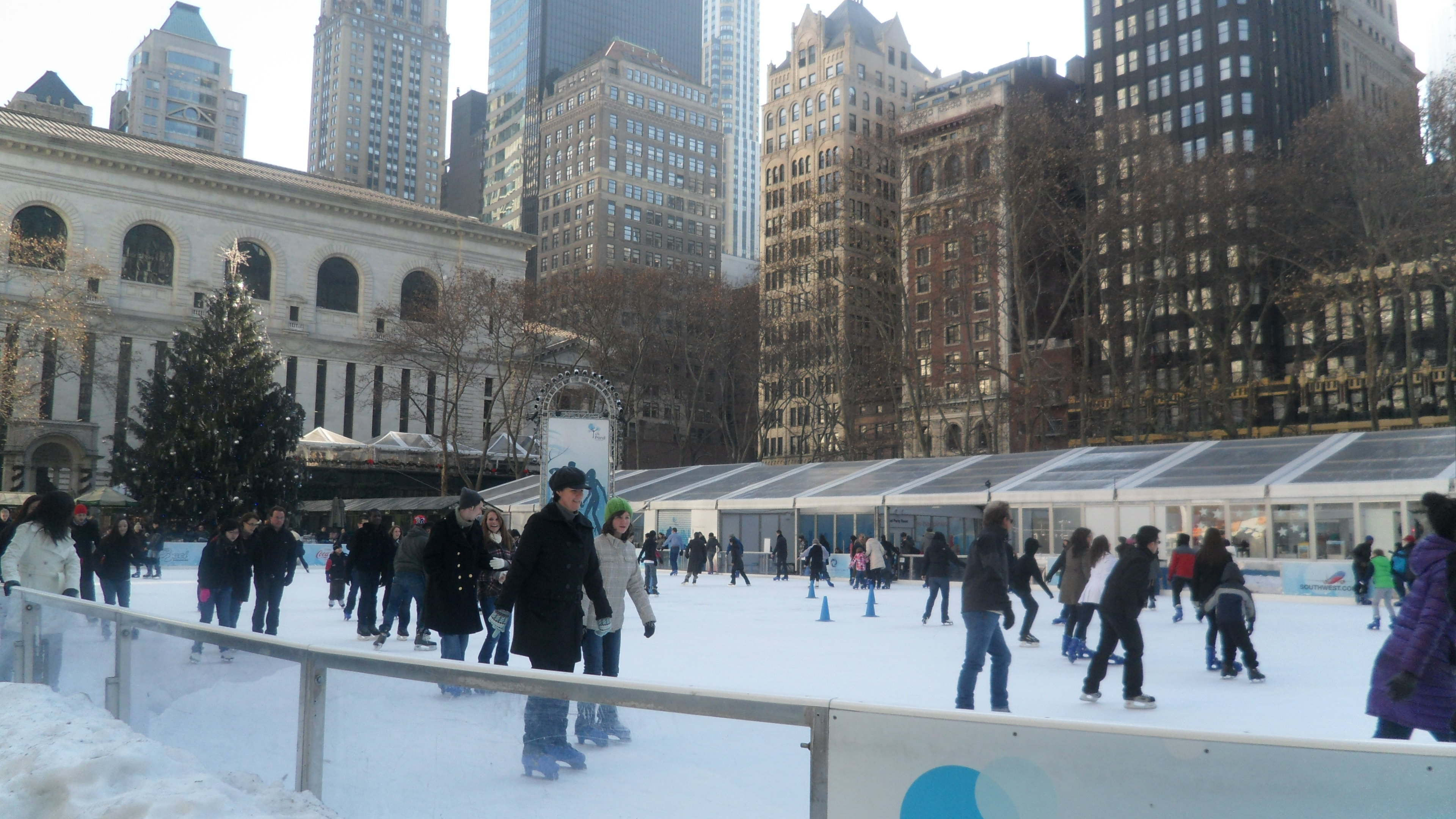 Nueva York, Bryant Park Ice Rink©VoyaNYC