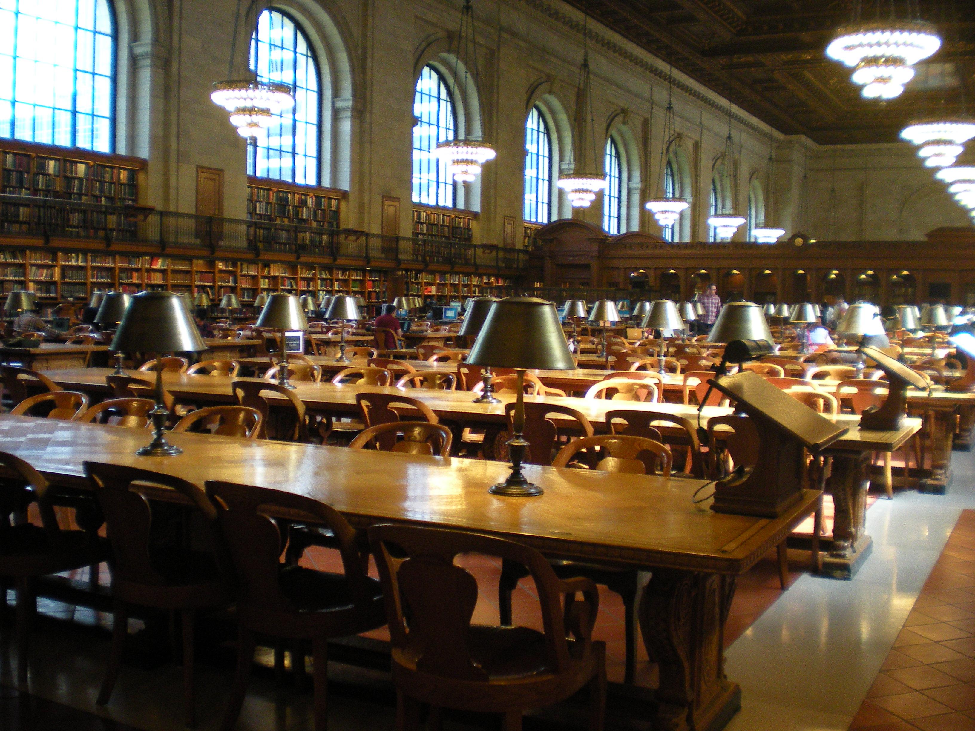 Nueva York, New York Public Library ©VoyaNYC