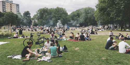 Londres Gratis Parque