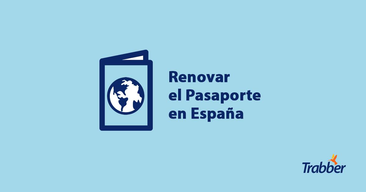 Renovar el Pasaporte en España