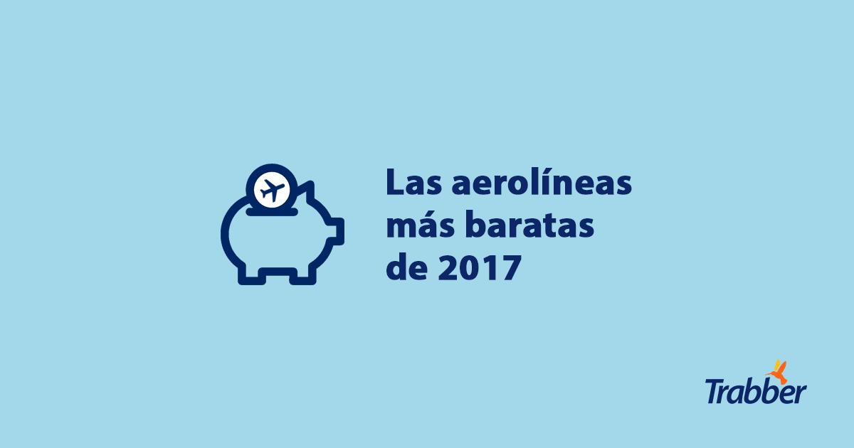 ranking aerolineas baratas 2017