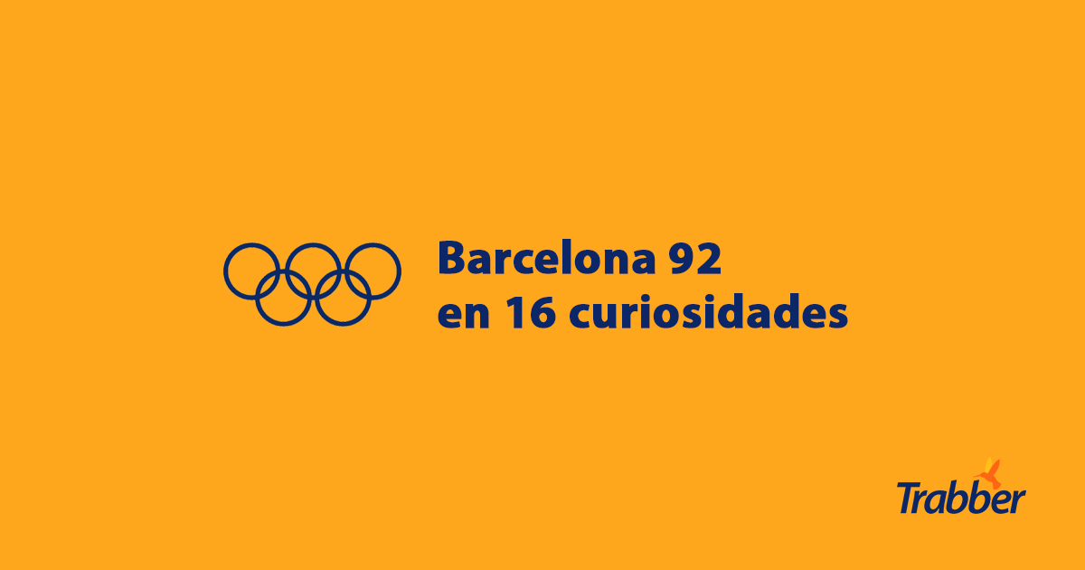 Descubre 16 Curiosidades Sobre Los Jj Oo De Barcelona 92