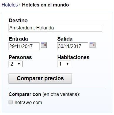 ejemplo navegador hoteles en el mundo