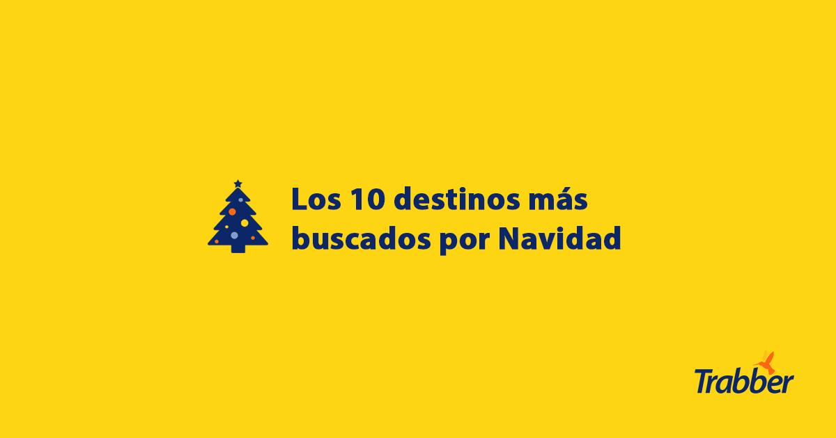 destinos navidad 2017