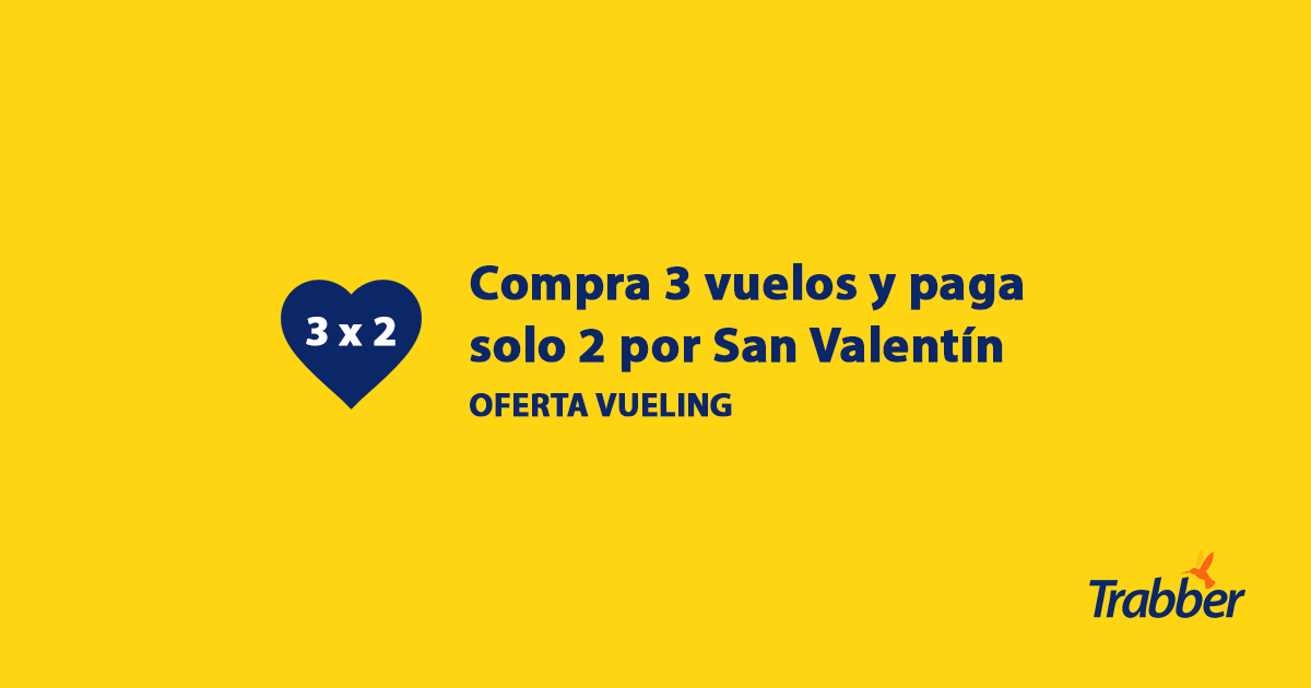San Valentin Vueling