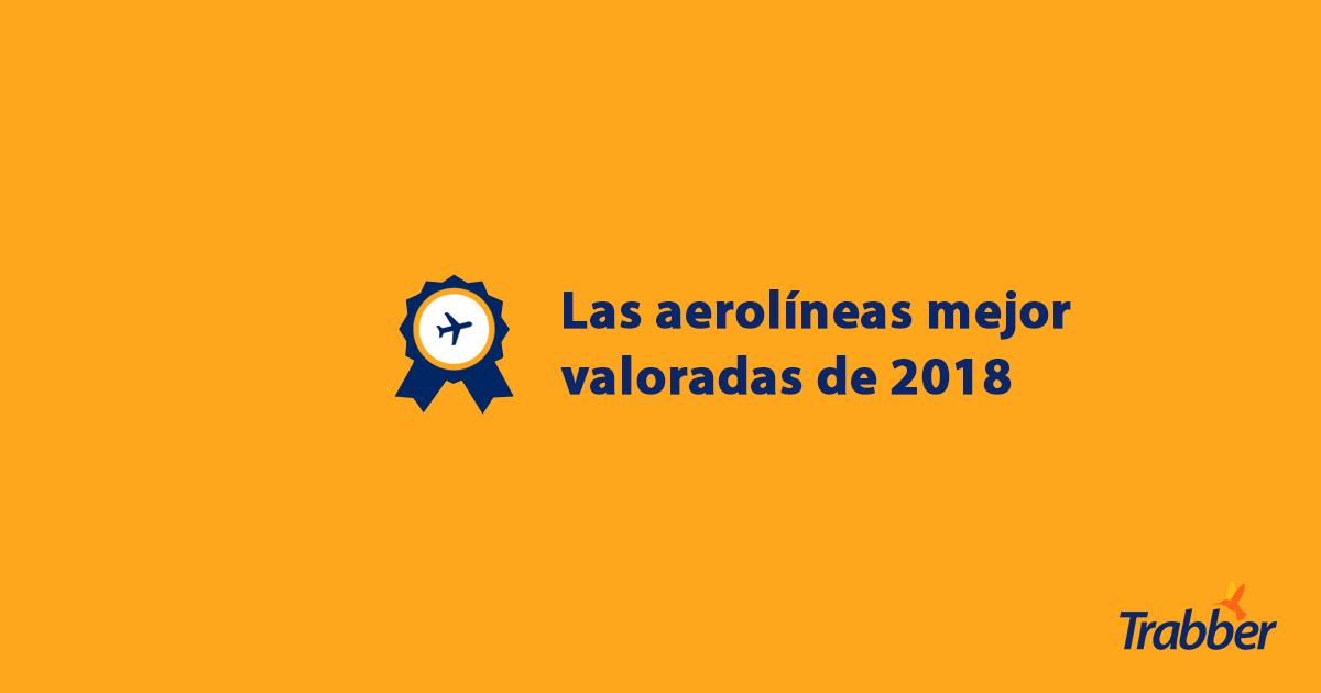 las aerolíneas mejor valoradas 2018