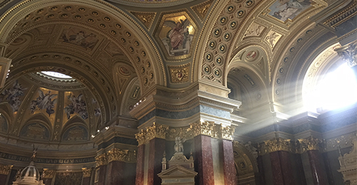 guía de budapest - basílica de san esteban
