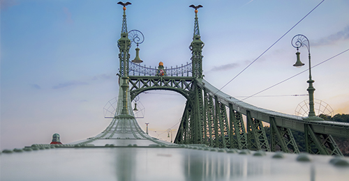 guía de budapest - puente de la libertad