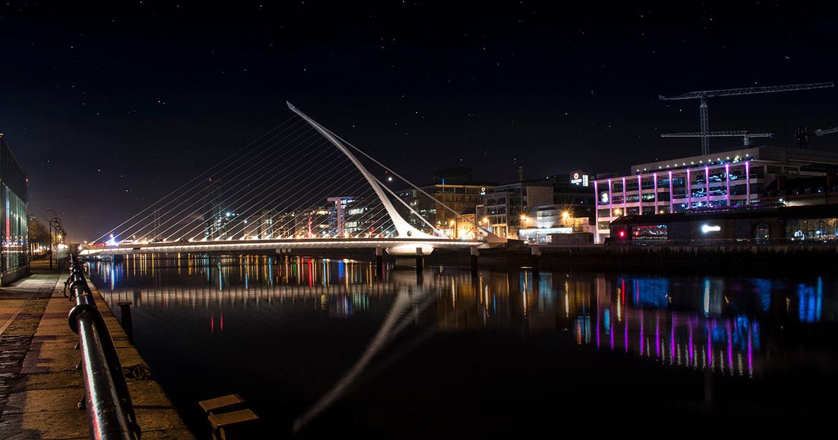 Puente Samuel Beckett, Dublín.