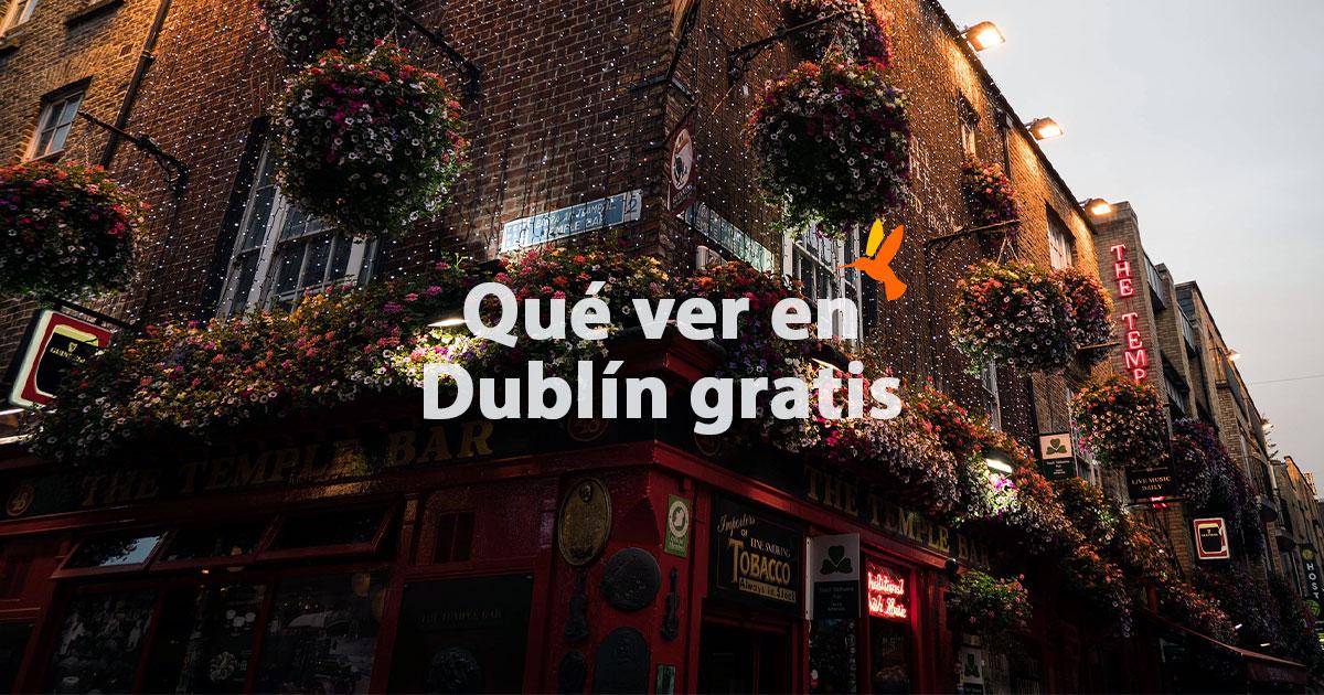 Qué ver y hacer gratis en Dublín