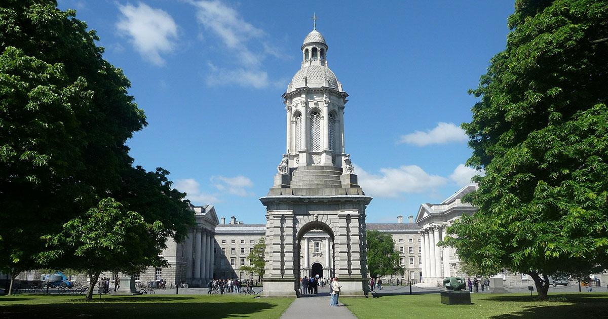 Trinity College, Dublín.