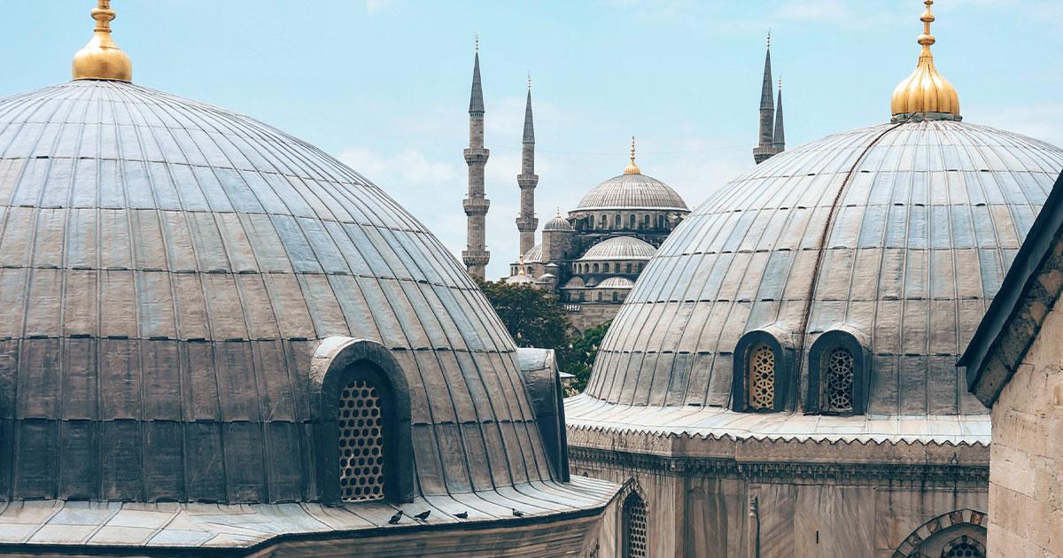 Foto de Estambul, un destino que puedes visitar durante una escala larga.