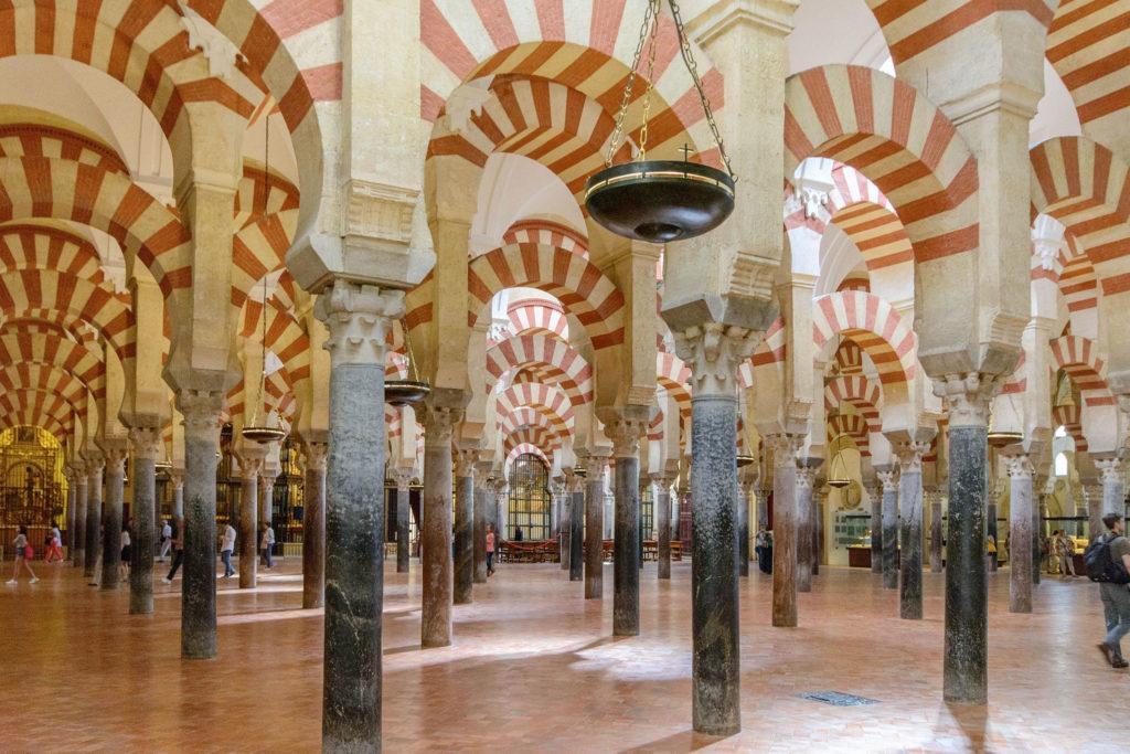 La espectacular Mezquita de Córdoba