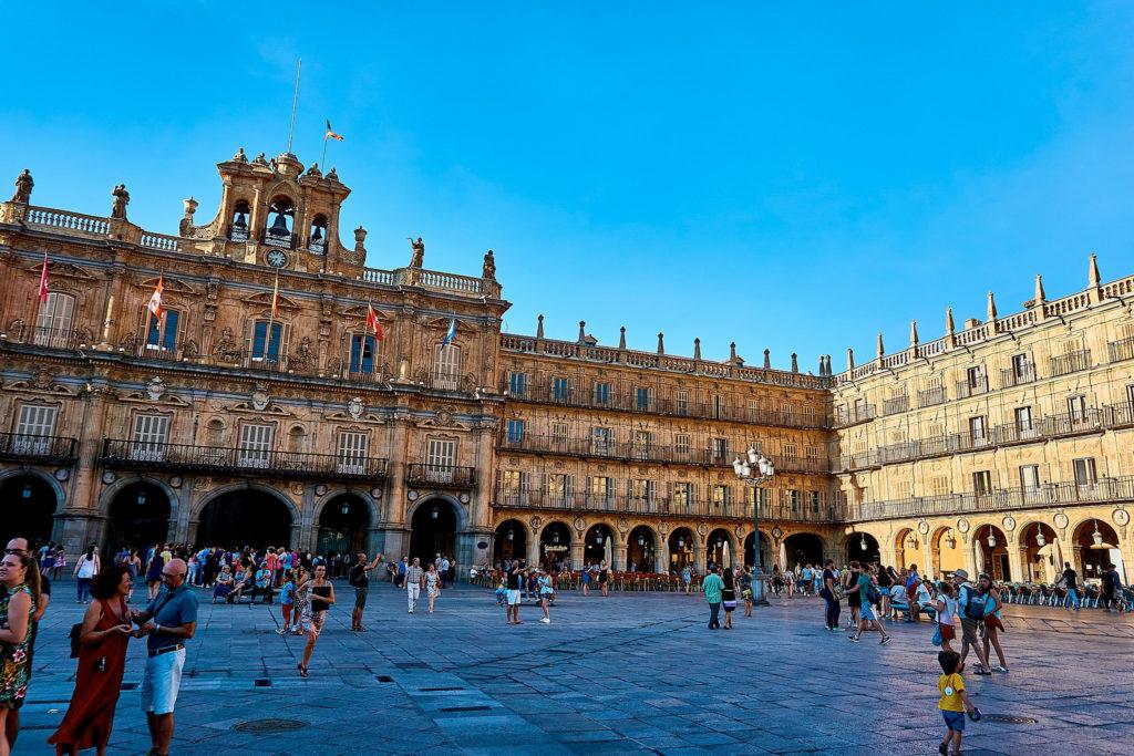 La plaza Mayor de Salamanca es una de las más bonitas del mundo