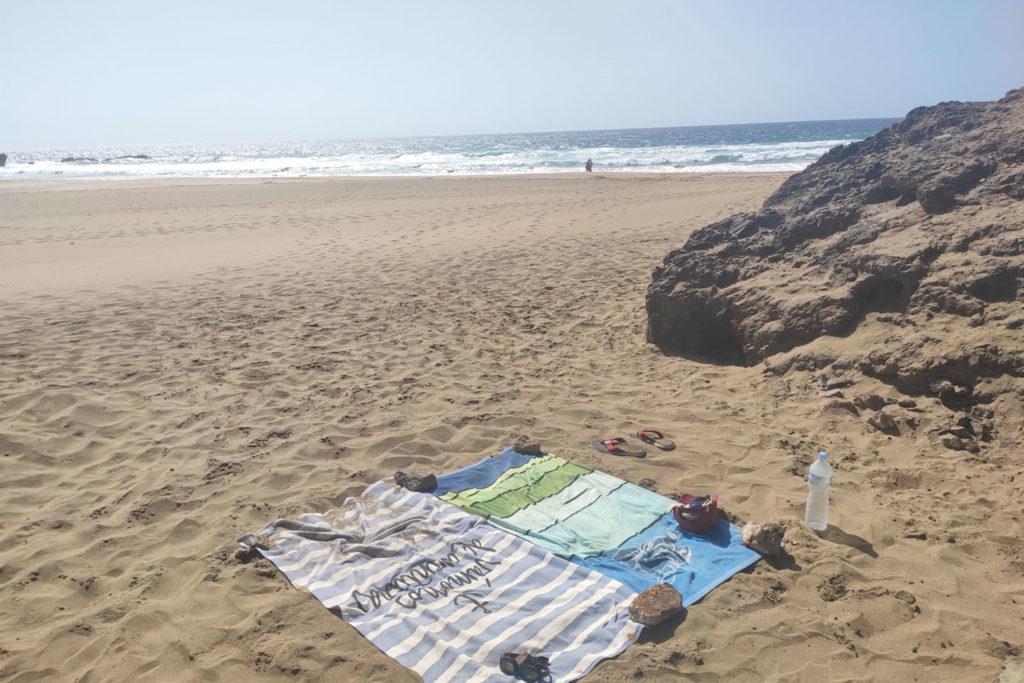 Playas vacías en Fuerteventura